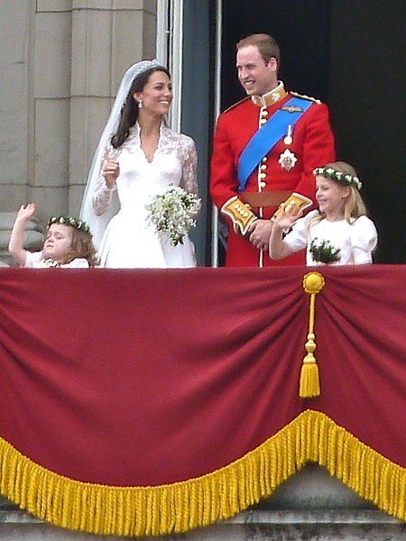 Royal family on the balcony - Acknowledgement for image is given to Wikipedia http://en.wikipedia.org/wiki/File:The_royal_family_on_the_balcony_(cropped).jpg