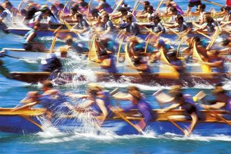 Dragon Boat Race Start Fit for Various Teams – 5-15