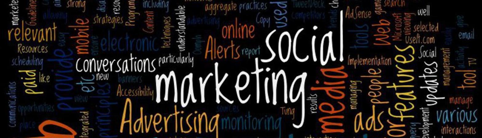 Web Marketing Word Art