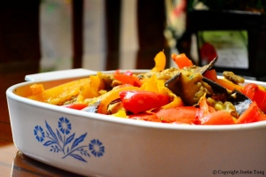 Eggplant Pepper Relish