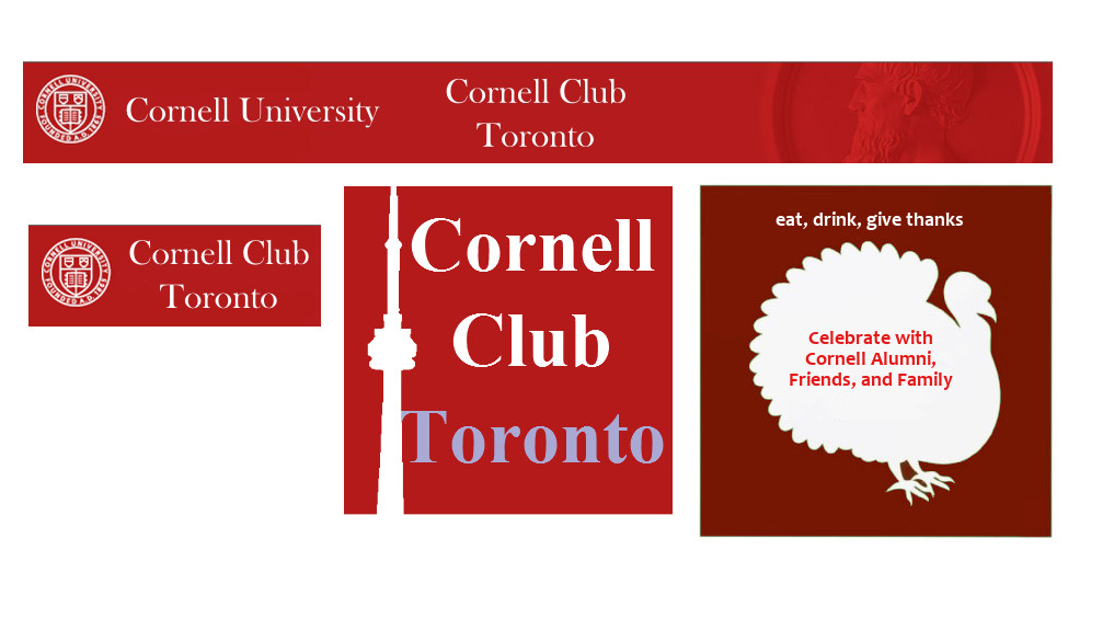 Cornell Club of Toronto Logos