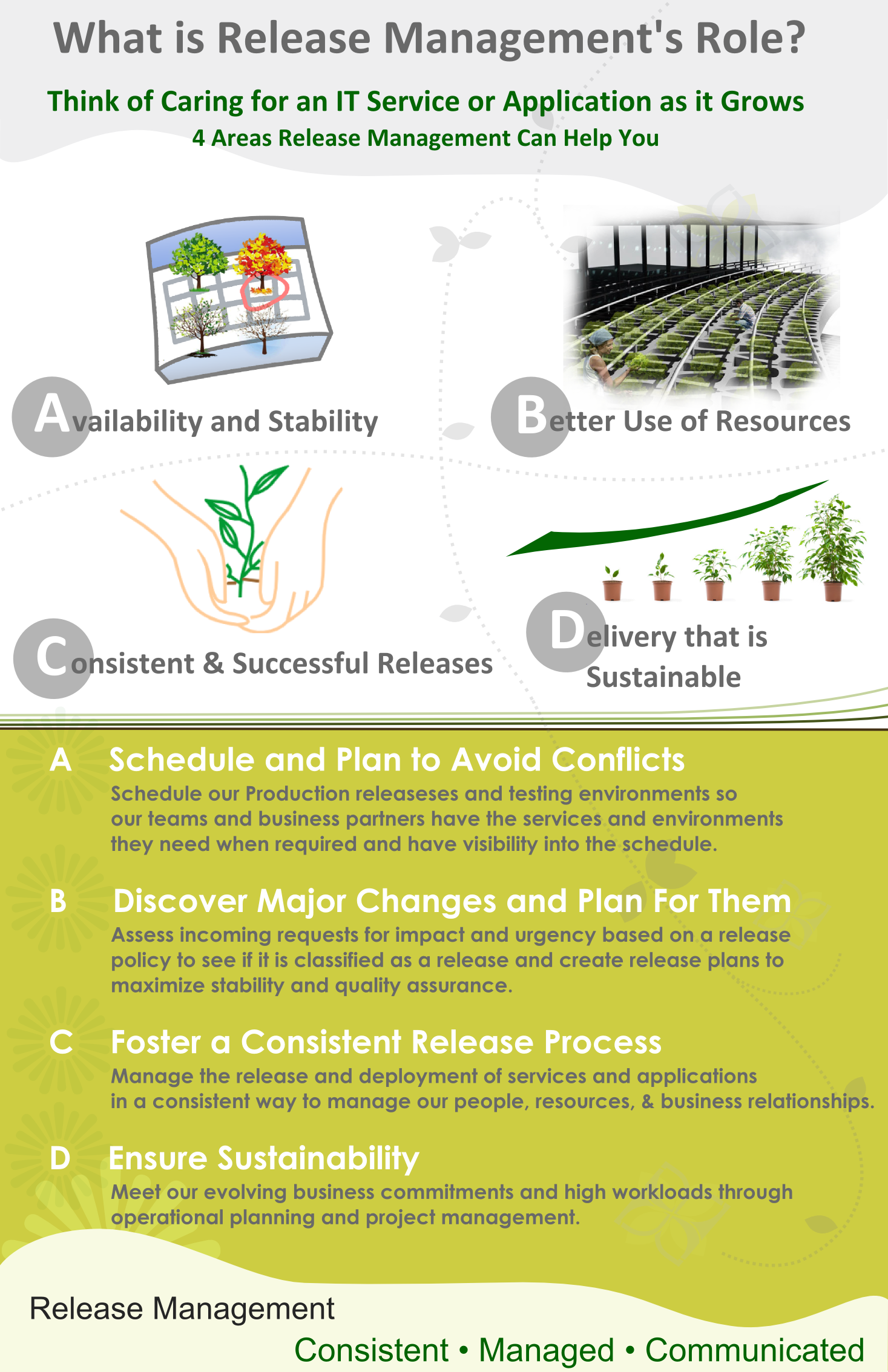 What is IT Release Management Poster