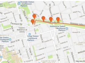 Anatomy of a Jane's Walk in Toronto:  Raindrop's Journey in RosedaleValley
